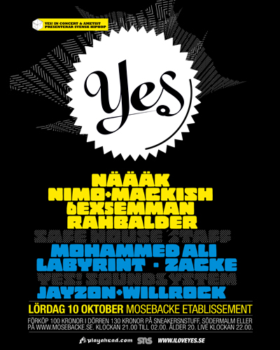 YES! In Concert 10th October